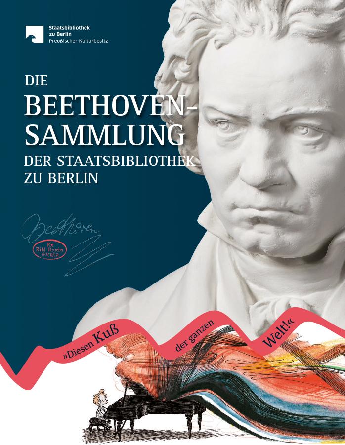 Der Begleitband zur Beethoven-Ausstellung der Staatsbibliothek, erschienen im Michael Imhof Verlag, 29,95 Euro