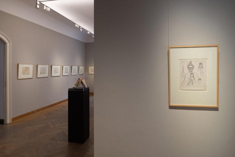 Die wegen Corona geschlossene Ausstellung bei Grisebach mit Werken von Hilma af Klint