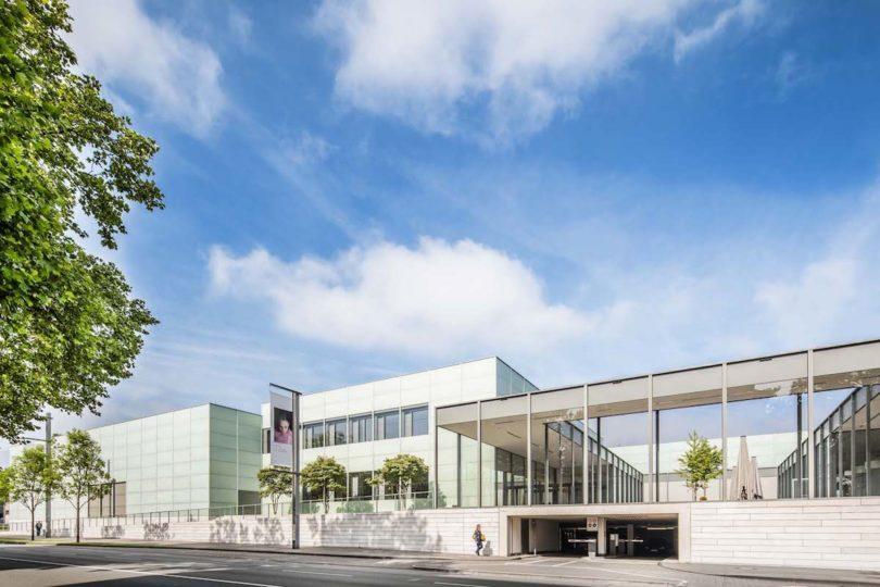 Fassade des Museum Folkwang in Essen (© Museum Folkwang 2017, Foto: Giorgio Pastore, auch o.)