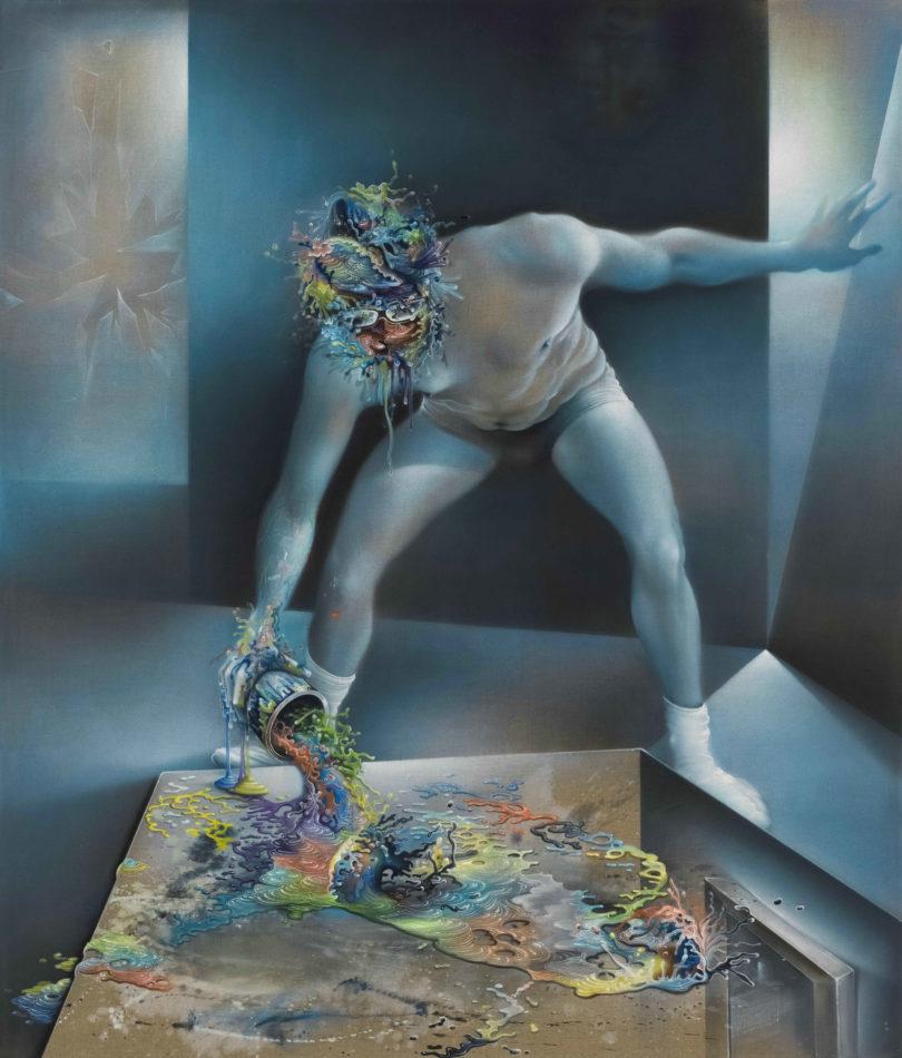 Bernhard Martin, Elysian Fields, 2017, Öl auf Rohleinwand, 235 x 210 cm, Courtesy der Künstler, © VG Bild-Kunst, Bonn 2020