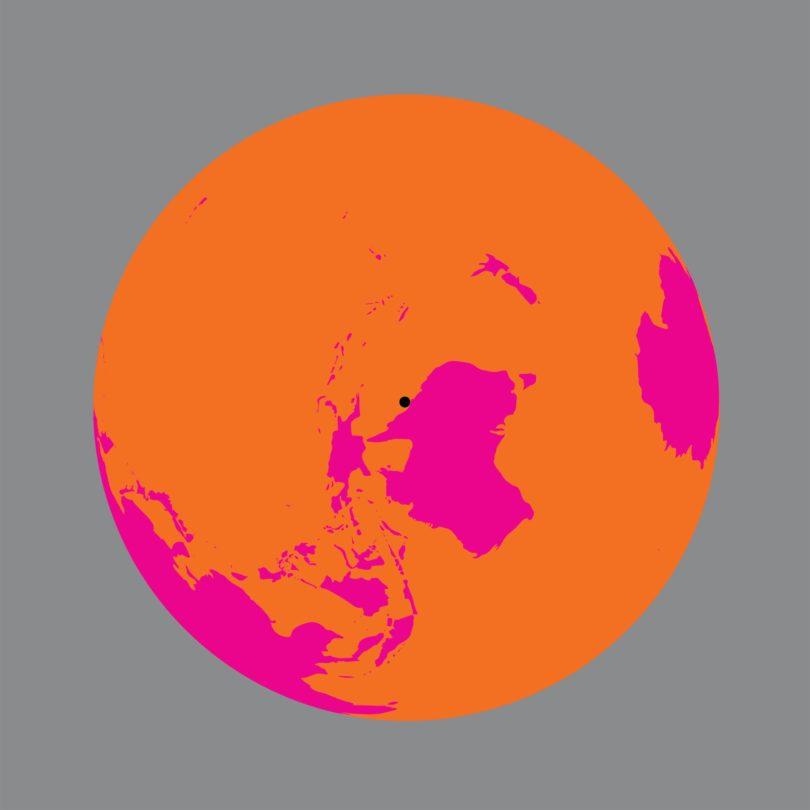 "Olafur Eliasson, ""Earth perspectives"", 2020 Die Erde, gesehen vom Great Barrier Reef, Australien ""Earth perspectives"" ist Teil des Projekts ""Back to Earth"" der Serpentine Galleries"