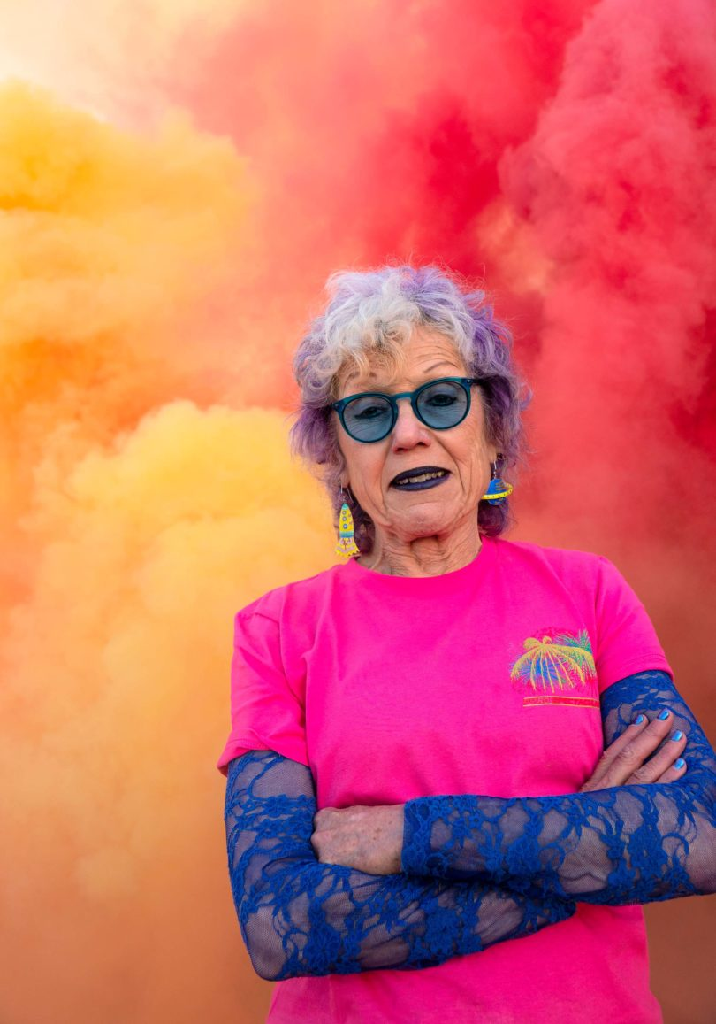 Judy Chicago, On Fire; Judy Chicago, 2020 © Judy Chicago/Artists Rights Society (ARS), New York Photo © Donald Woodman/ARS, New York, Courtesy of the artist; Salon 94, New York; Jessica Silverman Gallery, San Francisco; and Cirrus Gallery, Los Angeles, VG Bild-Kunst, Bonn 2020