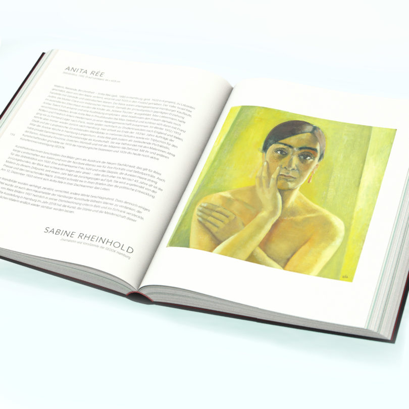 Der Beitrag über Anita Rée im neuen Buch