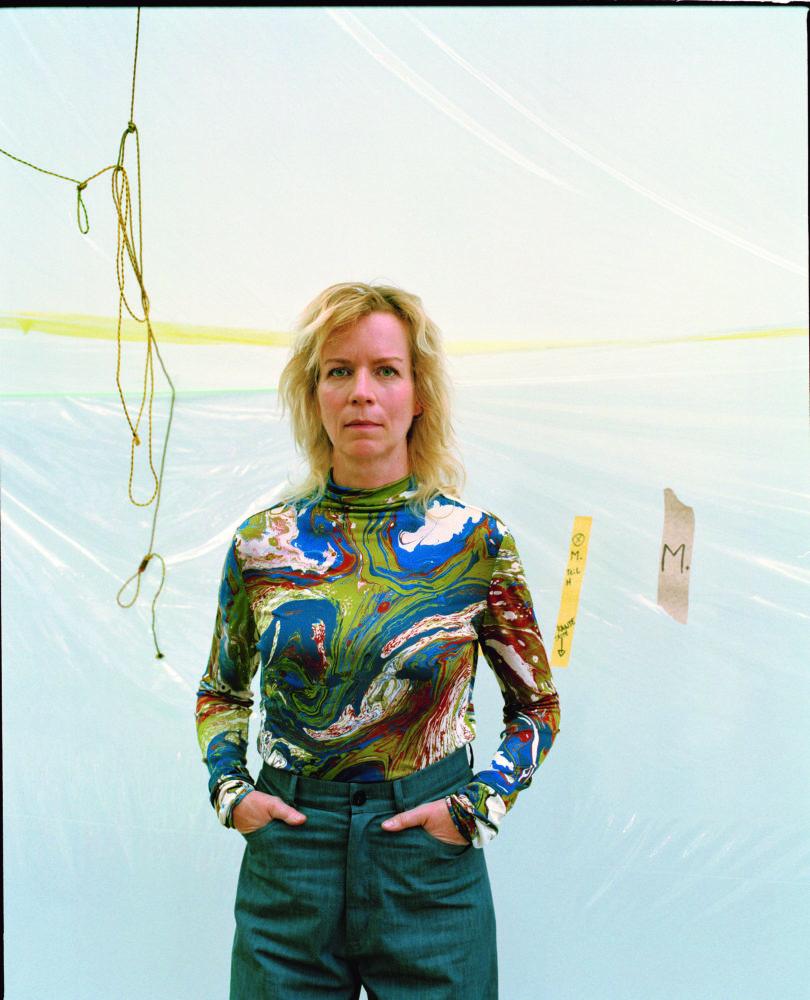 Portrait von Katharina Grosse © Alex de Brabant für WELTKUNST