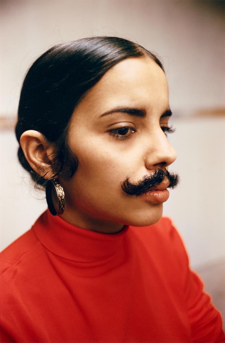 Ana Mendieta schuf 1972 das Selbstporträt