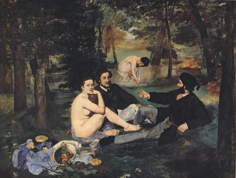 Kunstsalon Paul Cassirer Édouard Manet »Frühstück im Grünen«