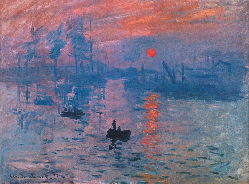 Paul Cassirer Kunstsalon Claude Monets »Impression, Sonnenaufgang«