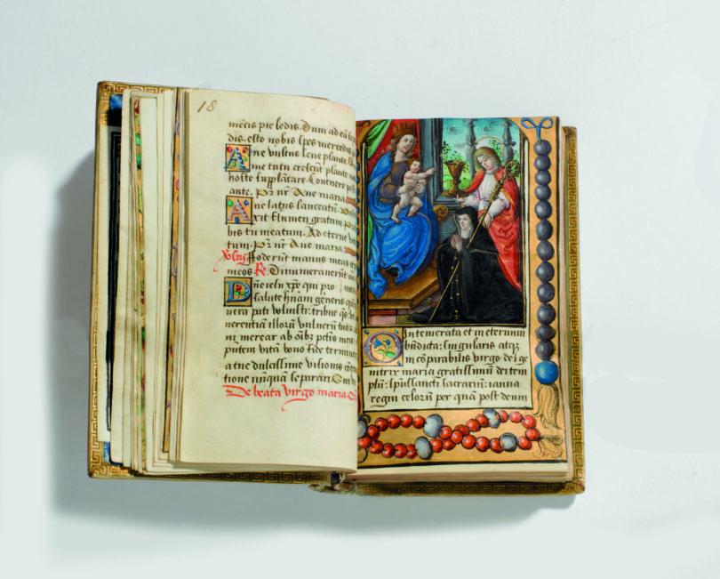 Christie's Auktion Maria Stuart Gebetbuch