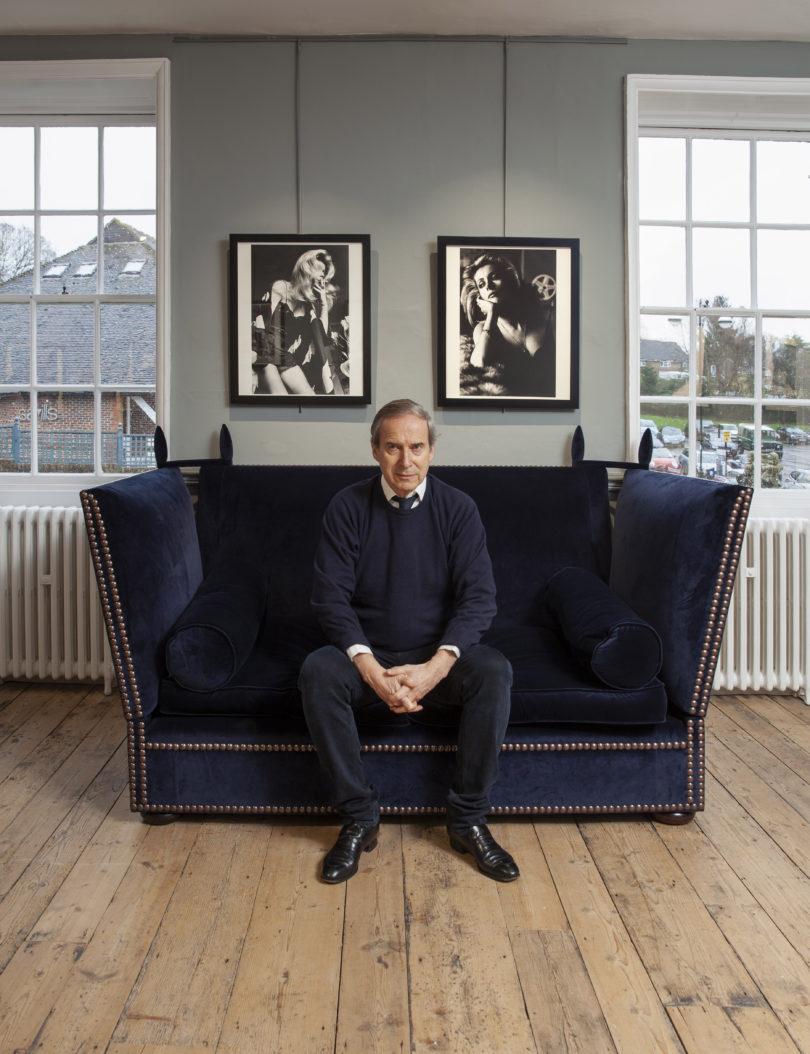 Weltkunst Simon de Pury Galerie Newlands House Interview Helmut Newton
