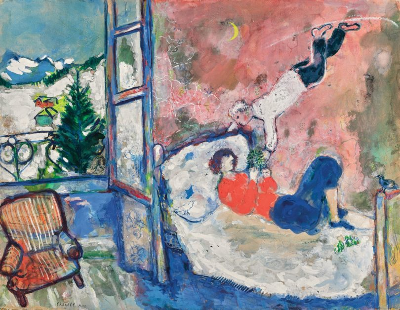 Marc Chagall Sothebys London Evening Sale
