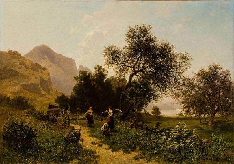 Heinrich Tomec Sommertag bei Duernstein