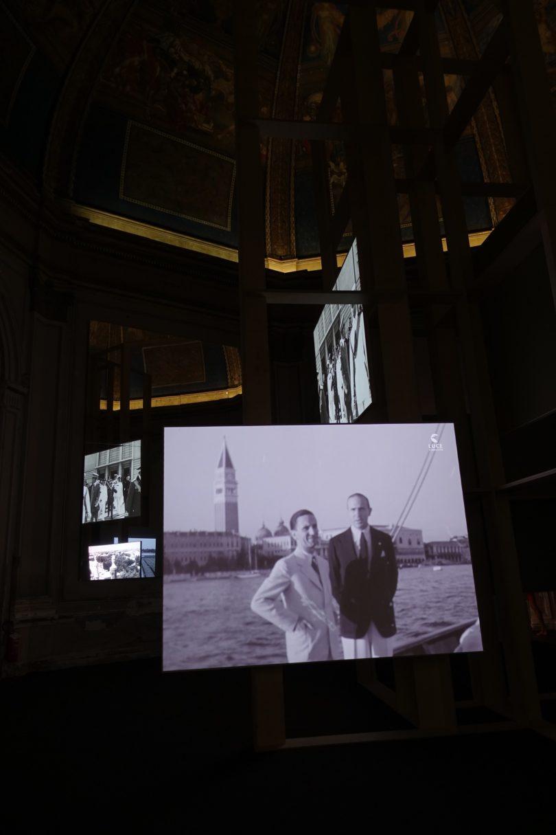 Ausstellungsansicht Kuppelsaal Biennale Venedig Joseph Goebbels