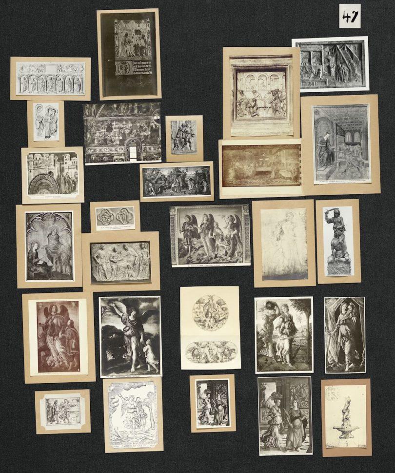 wiederhergestellte Bilderatlas Mnemosyne Aby Warburg