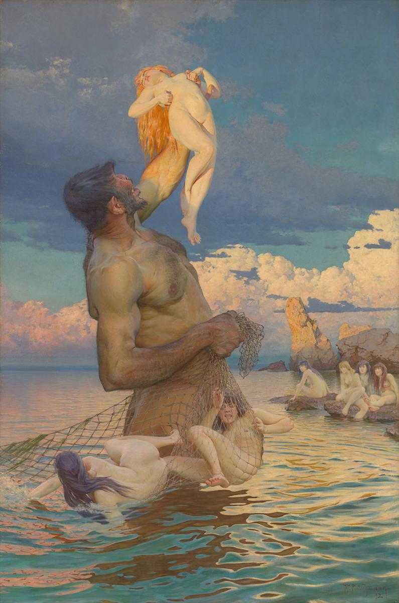Fischzug des Polyphem Max Pietschmann