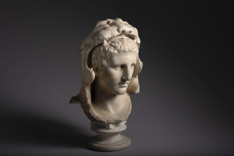Marmorbüste des jungen Herkules aus dem 1. Jahrhundert Galerie ArtAncient Tefaf Online
