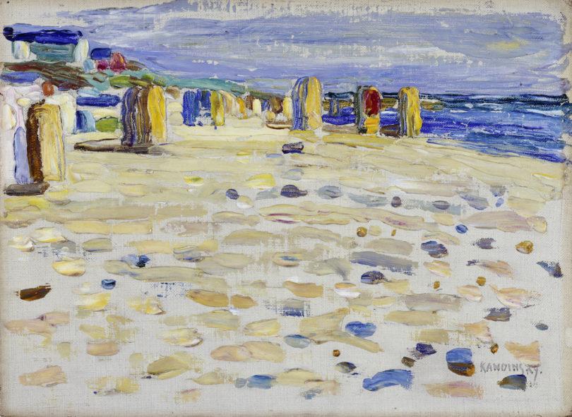 Wassily Kandinsky, Holland – Strandkörbe, 1904