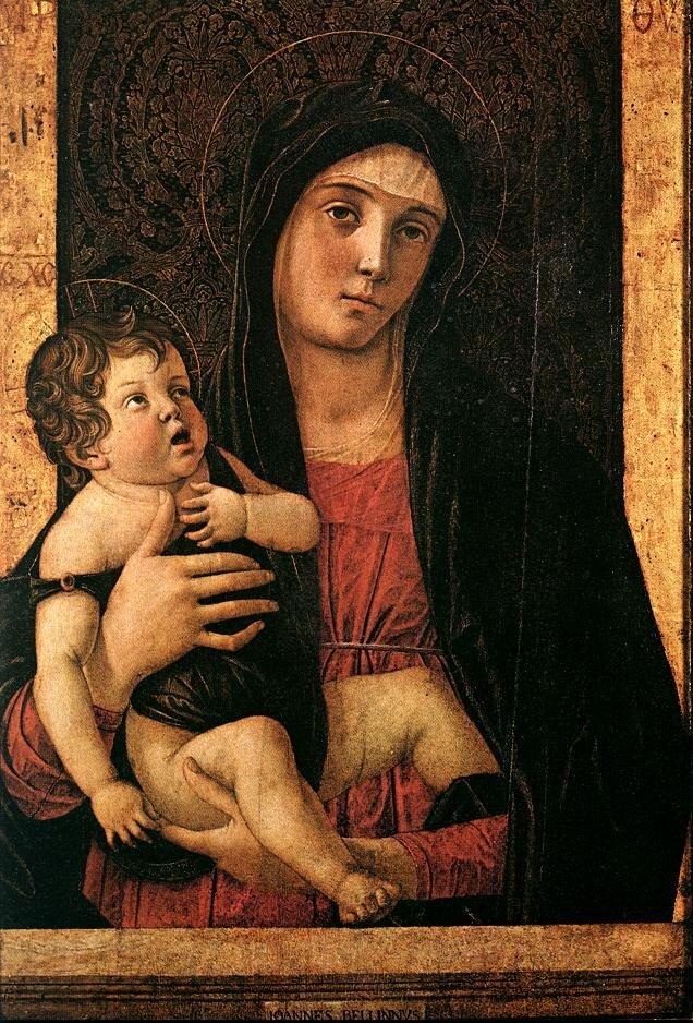 "Giovanni Bellinis Temperagemälde ""Madonna mit Kind"" Kirche Madonna dell'Orto Kunstdiebstahl"