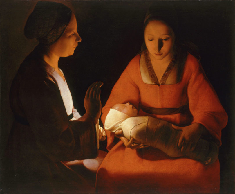 Georges de La Tour Gemälde Weihnachten