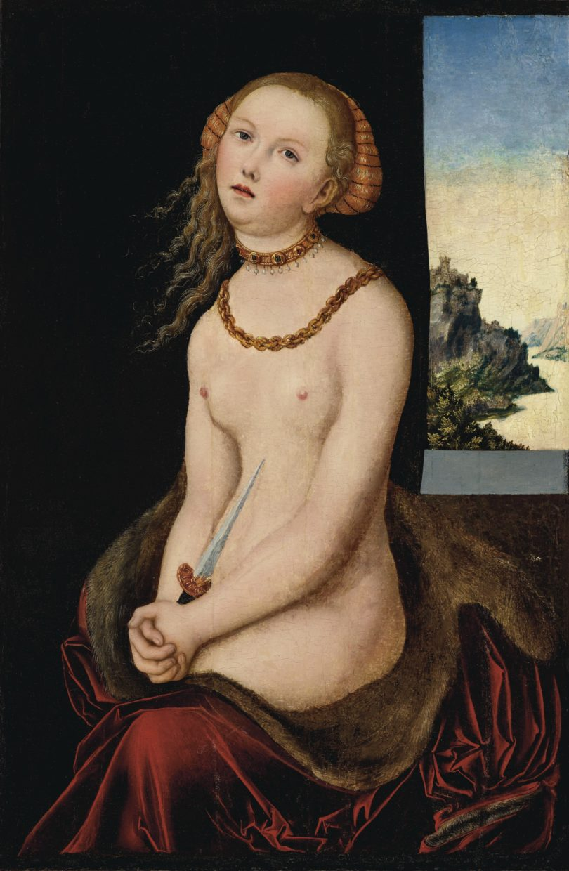 Cranach Lucretia Brooklyn Museum