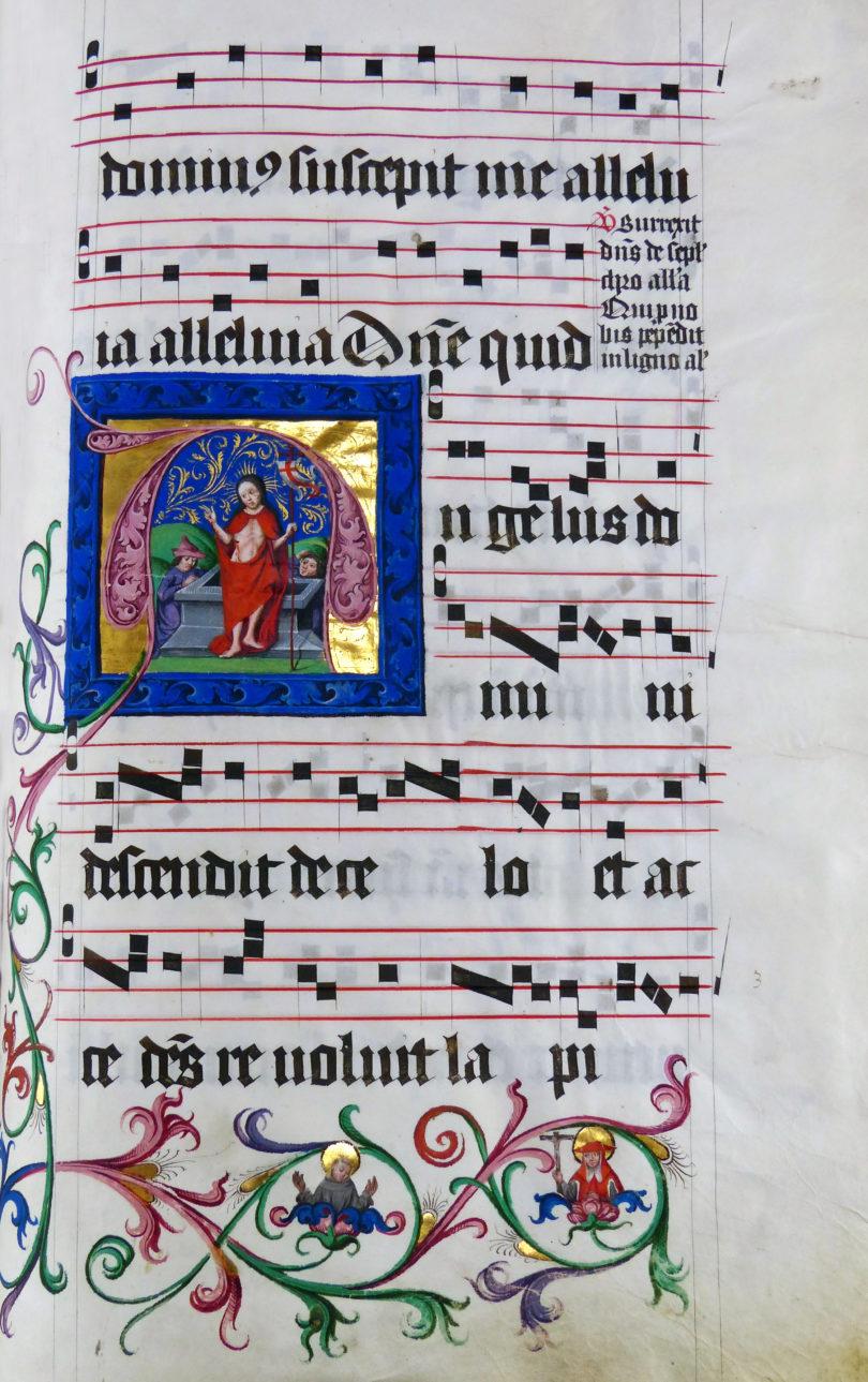 Antiquariatsmesse Stuttgart 2021 Antiphonar Chorbuch