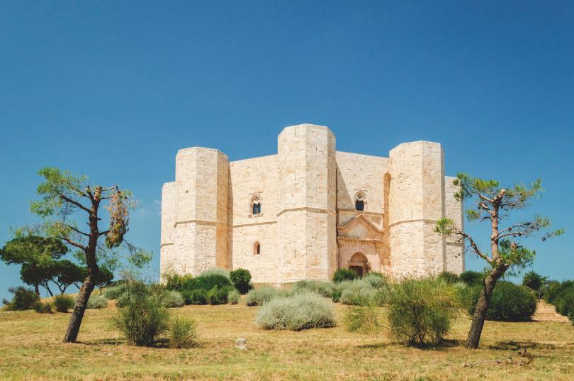 Ausflug zur Kunst Castel del Monte 1240