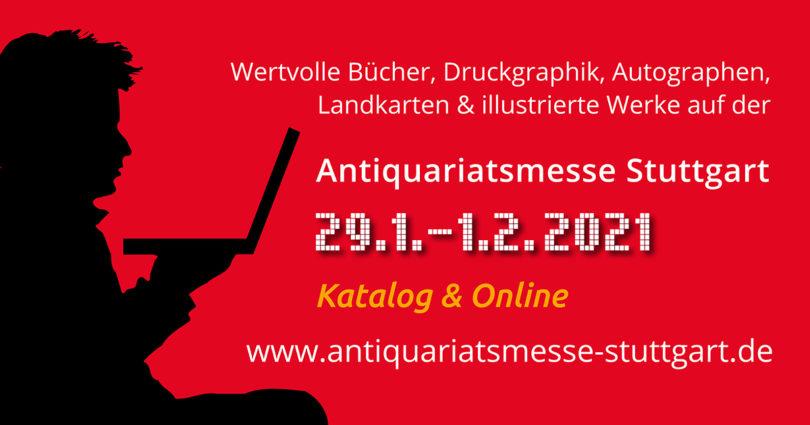 Antiquariatsmesse Stuttgart 2021