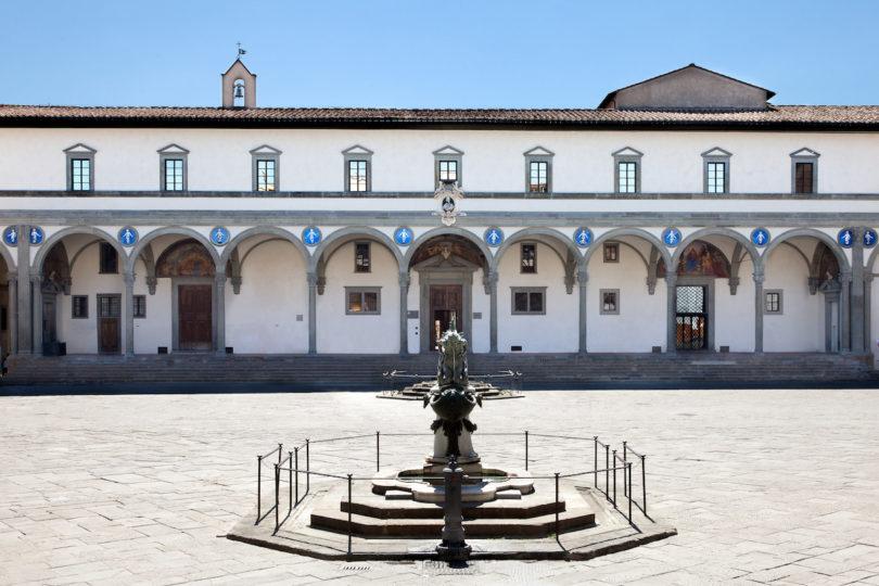Ausflug zur Kunst Filippo Brunelleschi Ospedale degli Innocenti