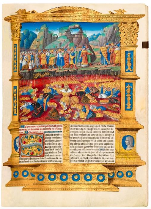 Antiquariatsmesse Stuttgart 2021 Vita Christi Manuskript