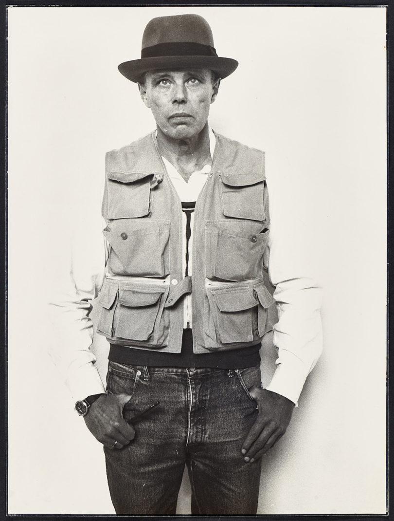 Porträt Joseph Beuys Peter Sevriens