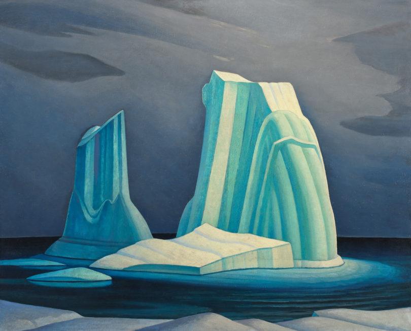 Magnetic North, Lawren Harris, Icebergs, Davis Strait
