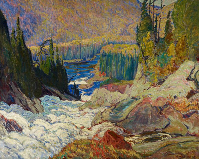 Magnetic North, James E. H. MacDonald, Montreal River