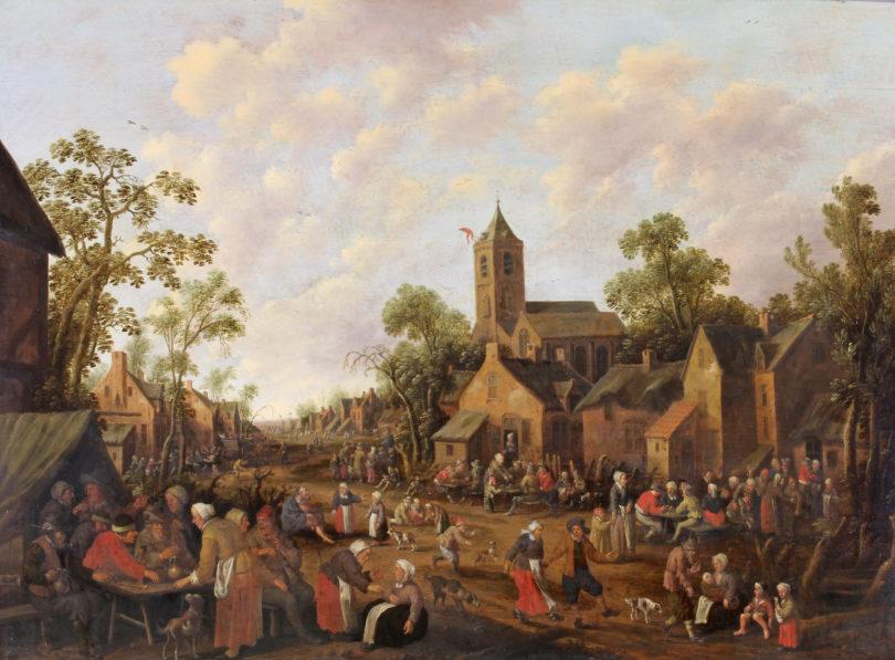 Droochsloot Dorfkirmes Plückbaum Auktion