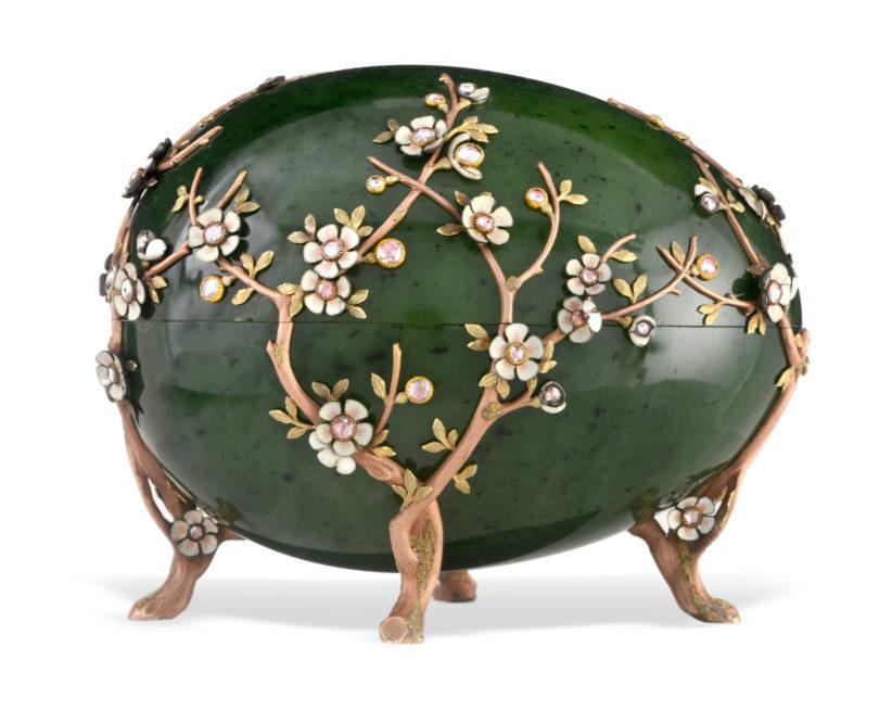Fabergé Apfelblüten-Ei