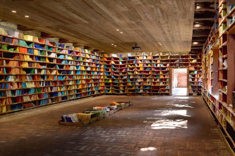 Farbbibliothek von Orsoni 1888 Venedig