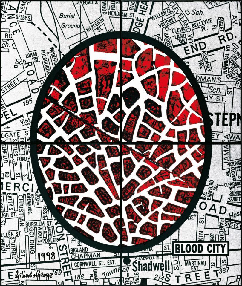Gilbert & George Blood City Schirn