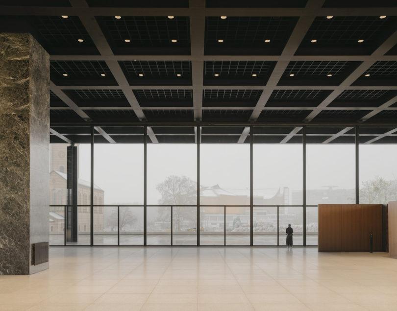 Glasfassaden Ausstellungshalle Neue Nationalgalerie