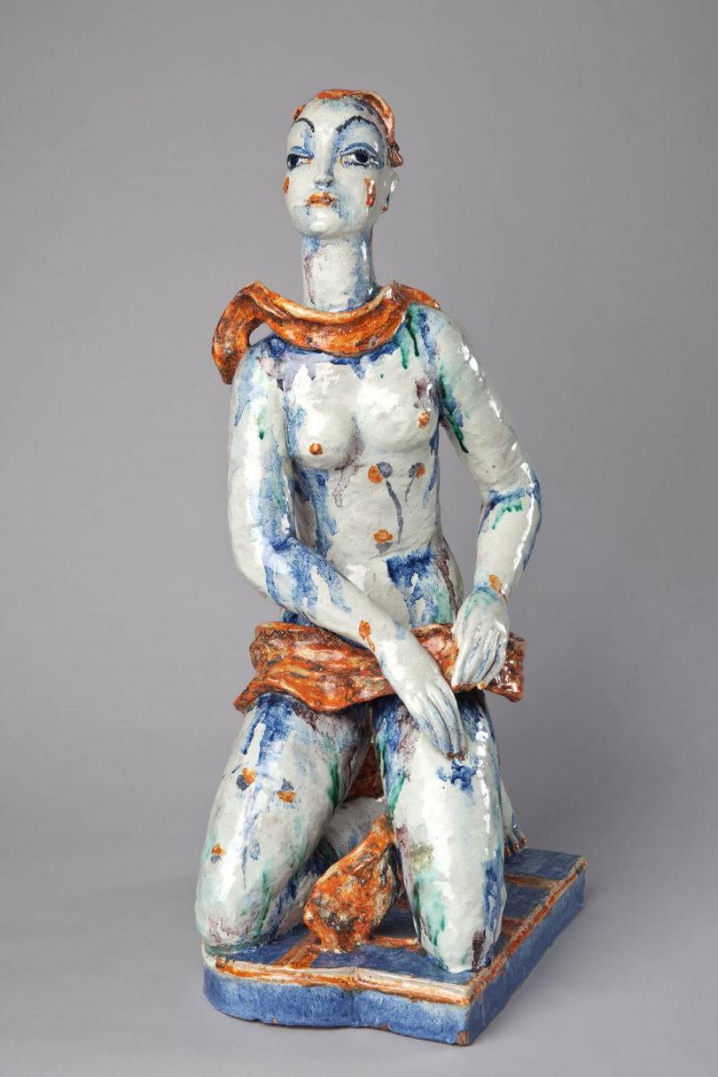 Wiener Werkstätte Gudrun Baudisch Keramik Figur