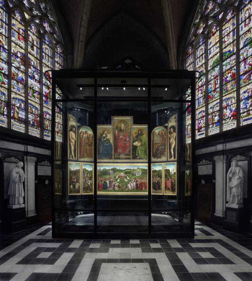 Genter Altar Mittelkapelle St. Bavo Jan van Eyck