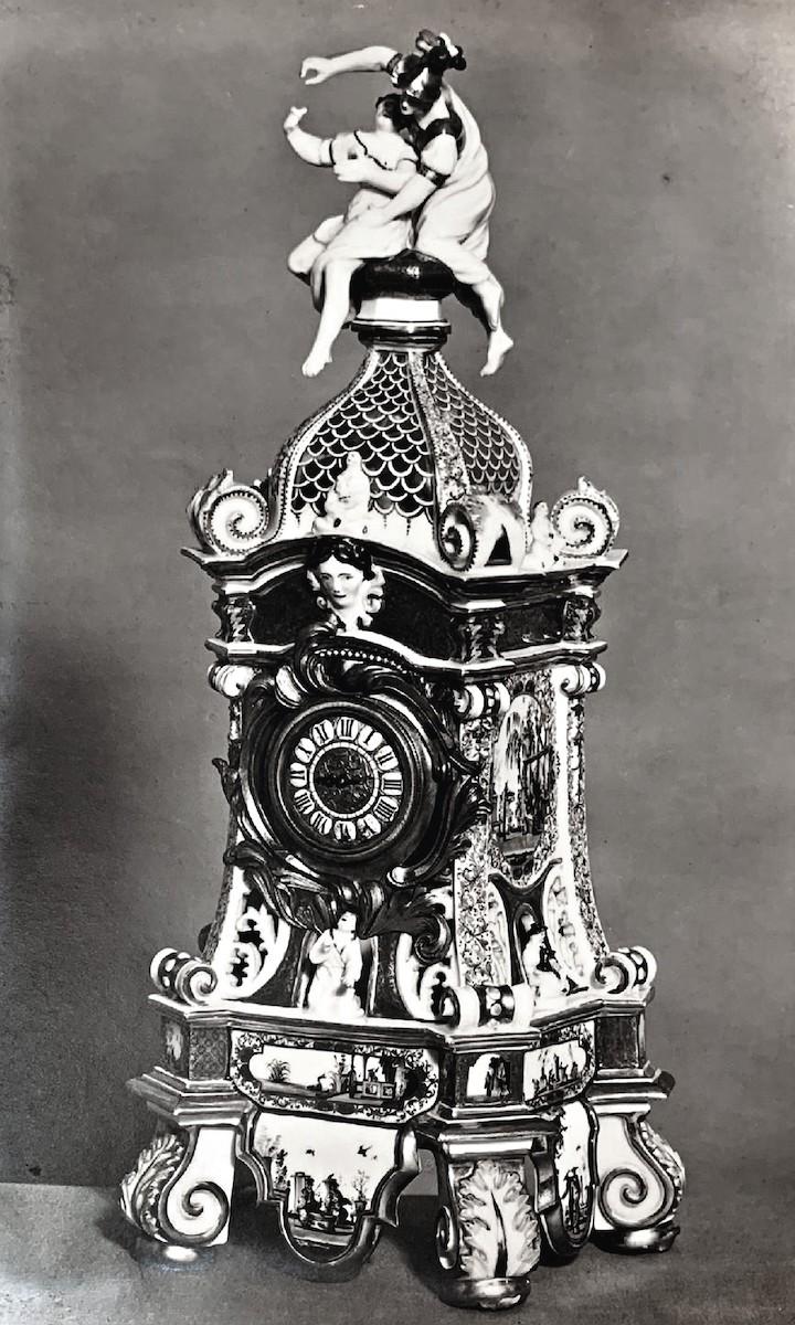 Sammlung Oppenheimer Uhrgehäuse George Fritzsche