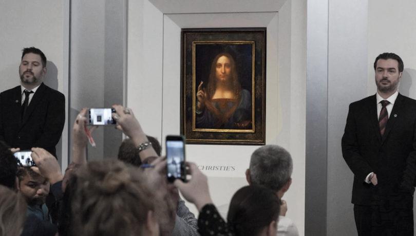 Leonardo da Vinci Salvator Mundi Christie's