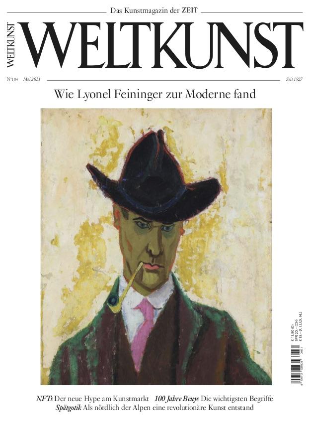 Weltkunst Mai Cover Feininger