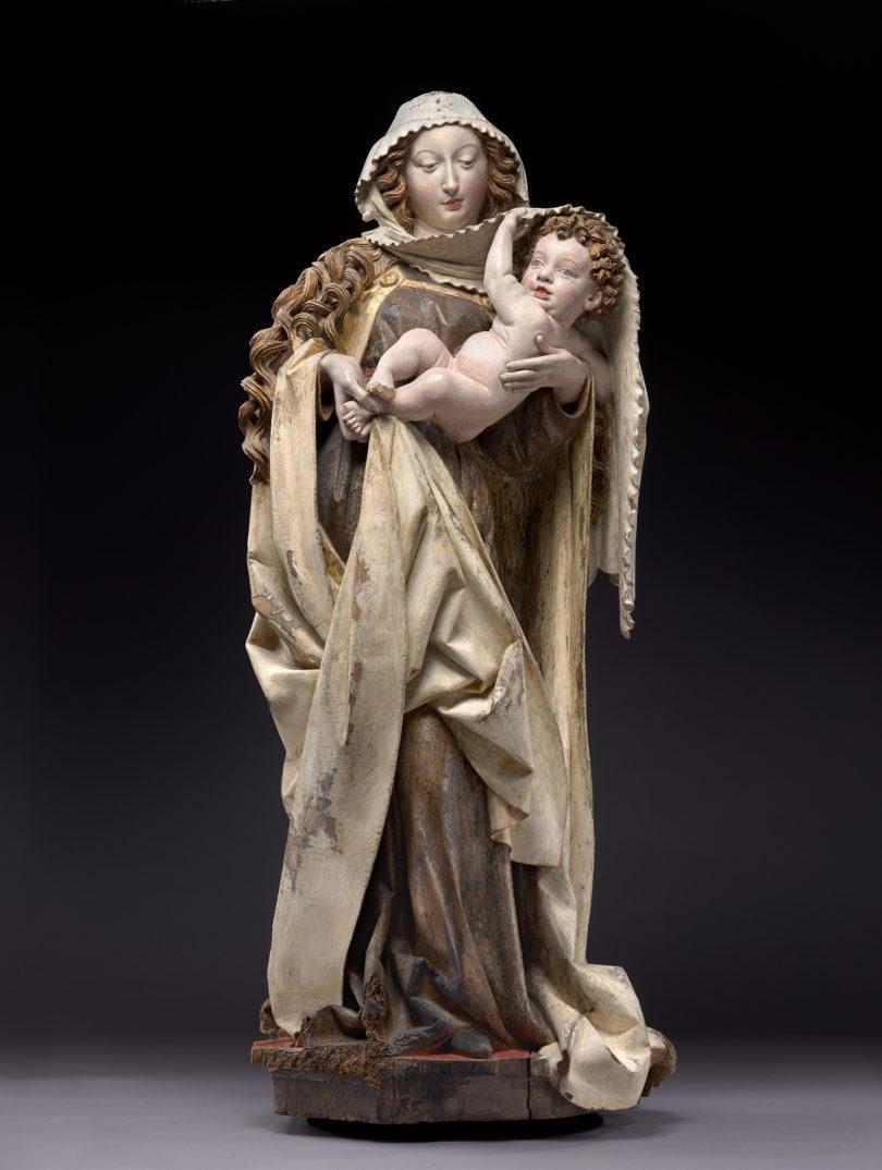 Spätgotik Gemäldegalerie Berlin Dangolsheimer Madonna Niclas Gerhaert van Leyden