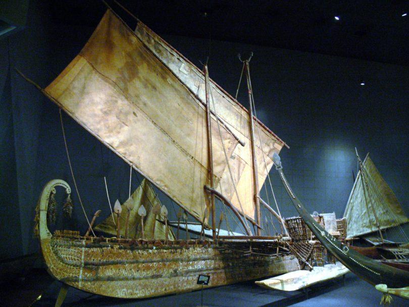 Luf-Boot Humboldt Forum Ethnologisches Museum Berlin