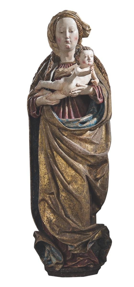 Bamberg Kunst- und Antiquitätenwochen Wenzel Madonna Hans Klocker