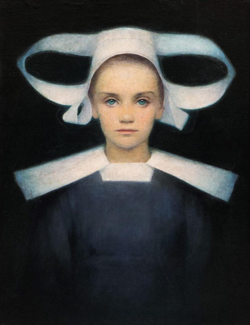 """Kunsthandel Giese & Schweiger bringt aus Wien das um 1893 entstandene Porträt eines """"Bretonischen Mädchens"""" von Ludwig Ferdinand Graf auf die Messe. © Giese & Schweiger, Wien"""