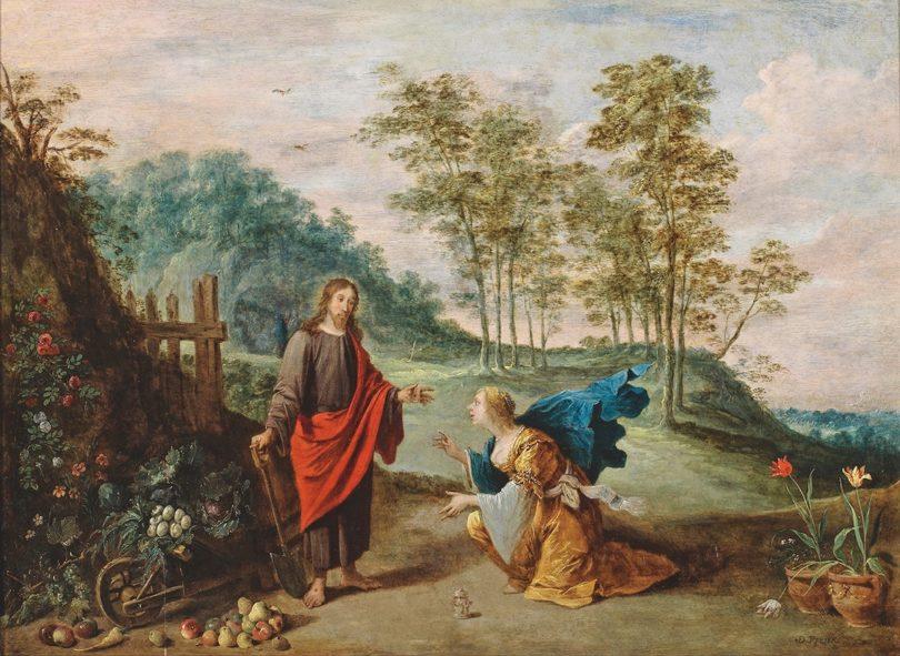 David Teniers Noli me tangere Auktion Ahlden