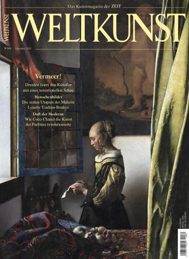 Johannes Vermeer Cover Weltkunst