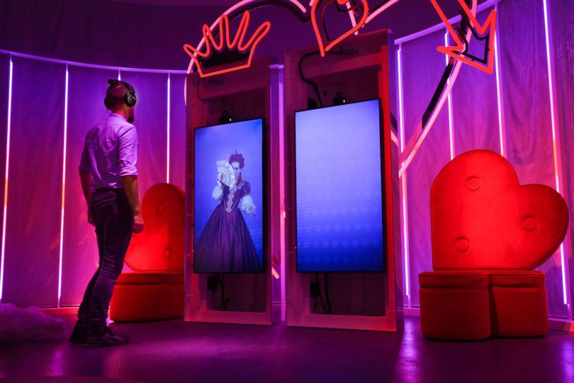 Im partizipativen Ausstellungsparcours können die Besucher an der Märchenwelt teilnehmen. © H.C. Andersen's Hus, Odense Bys Museer, Laerke Beck Johansen