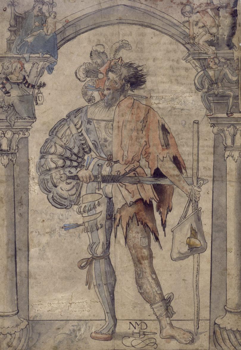 Niklaus Manuel Deutsch Allegorie Maximilianmuseum Fuggerei Augsburg