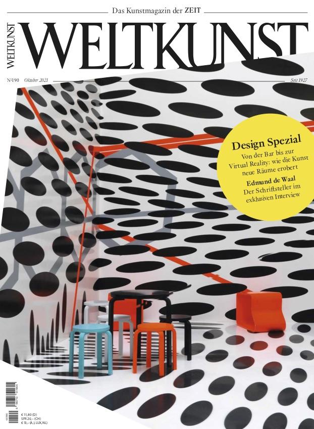 Oktoberausgabe Weltkunst Tobias Rehberger